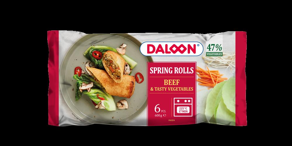 Spring Rolls Beef & Tasty Vegetables