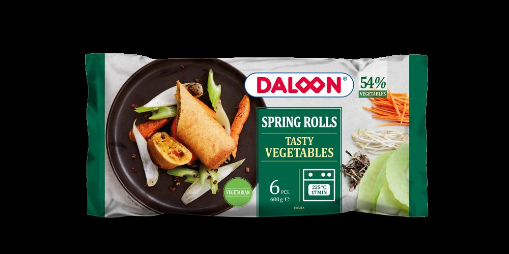 Spring Rolls Vegetables