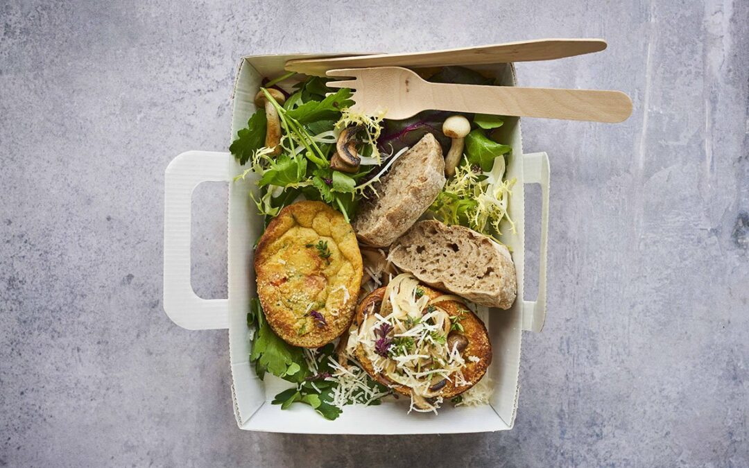 Mini Soufflé med broccoli og morötter