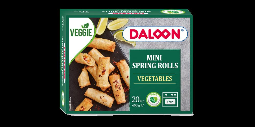 Mini Spring Rolls med grönsaker